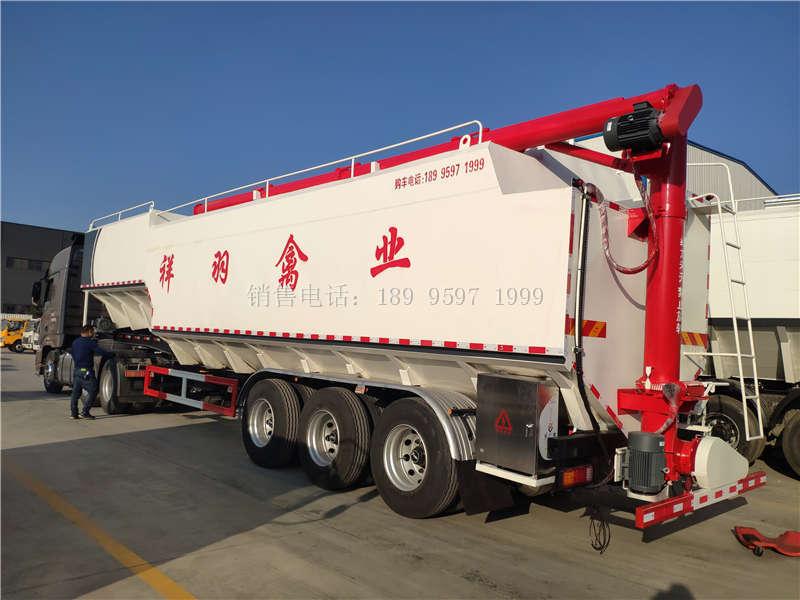 65方13米半挂散装饲料运输车