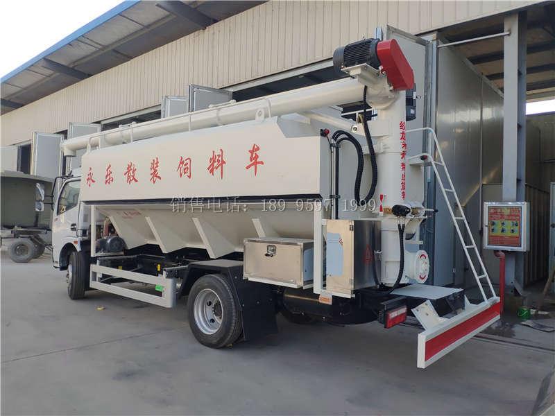7吨东风福瑞卡散装饲料车
