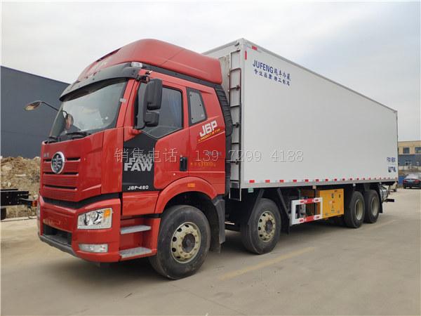 9米6解放J6P冷藏车如何使用?解放9米6冷藏车如何规避风险?