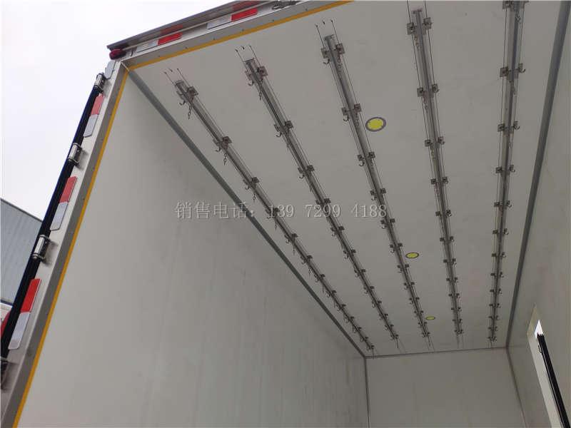 高顶江淮格尔发6米8冷藏车