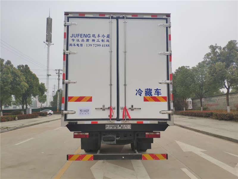 江淮格尔发7米8冷藏车