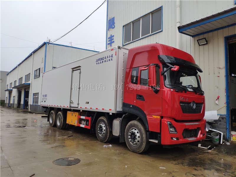 东风天龙9米6冷藏车厂家价格表