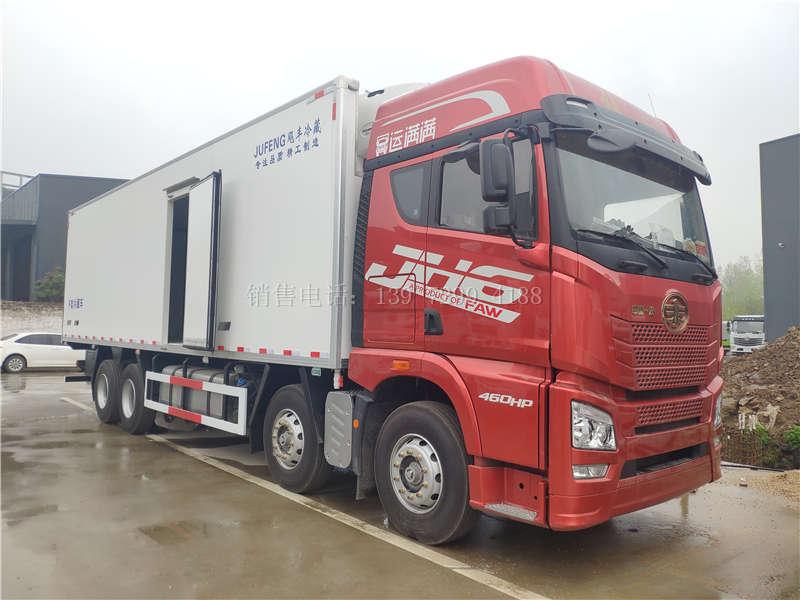 国六9米6冷藏车可以拉多少吨?