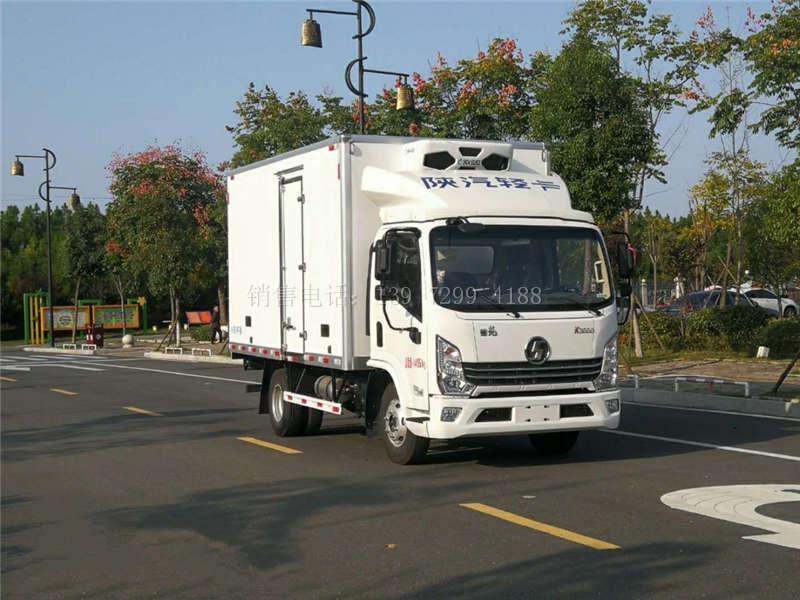 国六陕汽德龙4.2米冷藏车厂家
