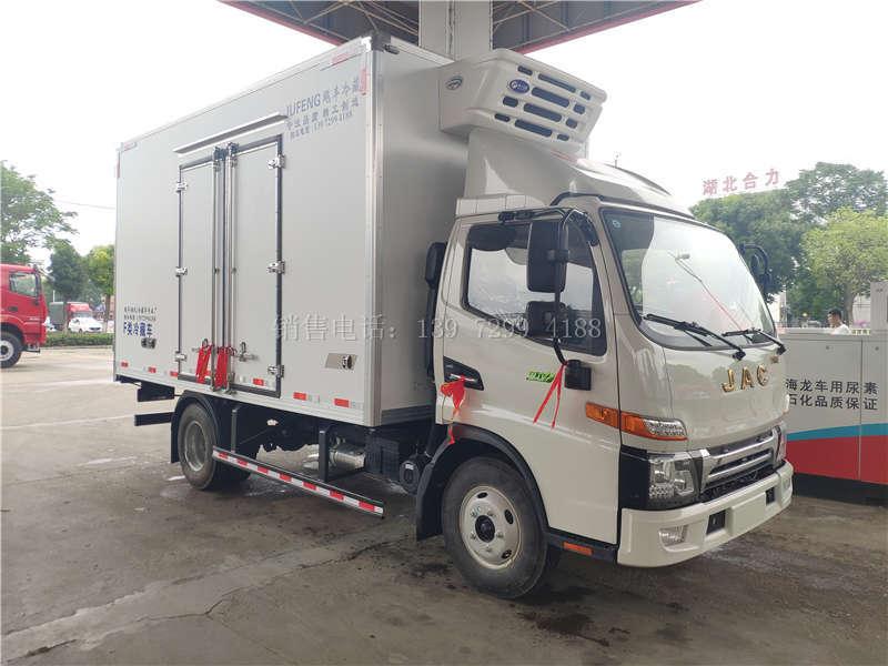 国六江淮帅铃E四米二冷藏车