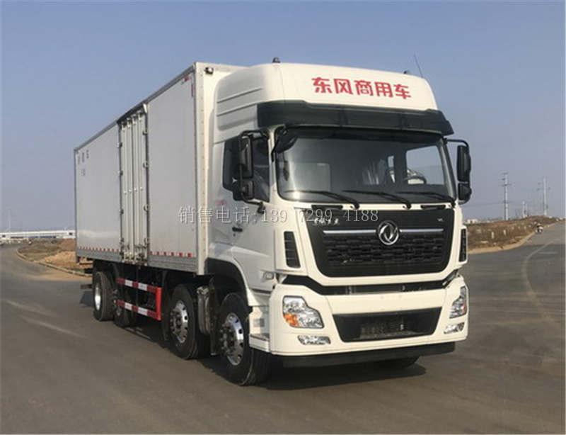 国6东风天龙KL九米六冷藏车厂家