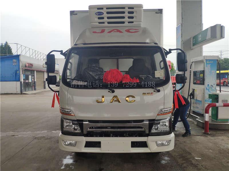 国六江淮冷藏车4米2报价