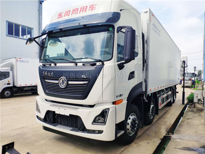 买东风天龙9米6冷藏车跑运输赚钱吗?