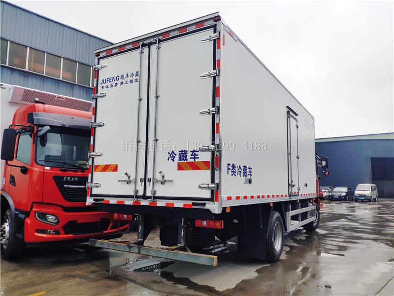 国六陕汽L3000德龙6米9冷藏车价格图片