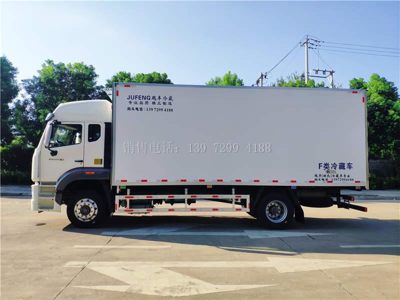 国六重汽豪沃6米8冷藏车价格图片
