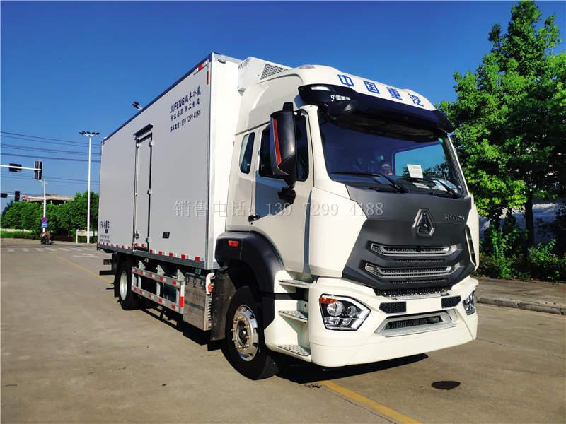 恭喜湖南怀化李总喜提国六重汽豪沃6米8冷藏车
