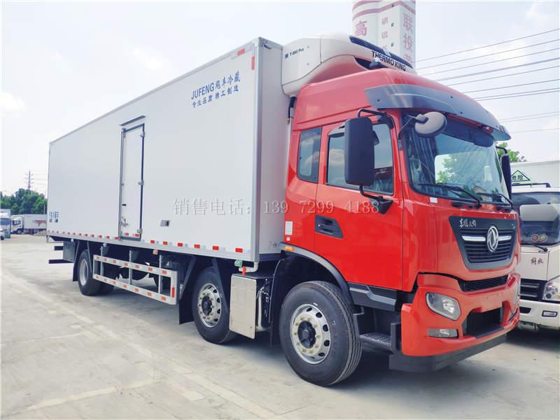 国六三桥东风天锦KR9米6冷藏车价格图片