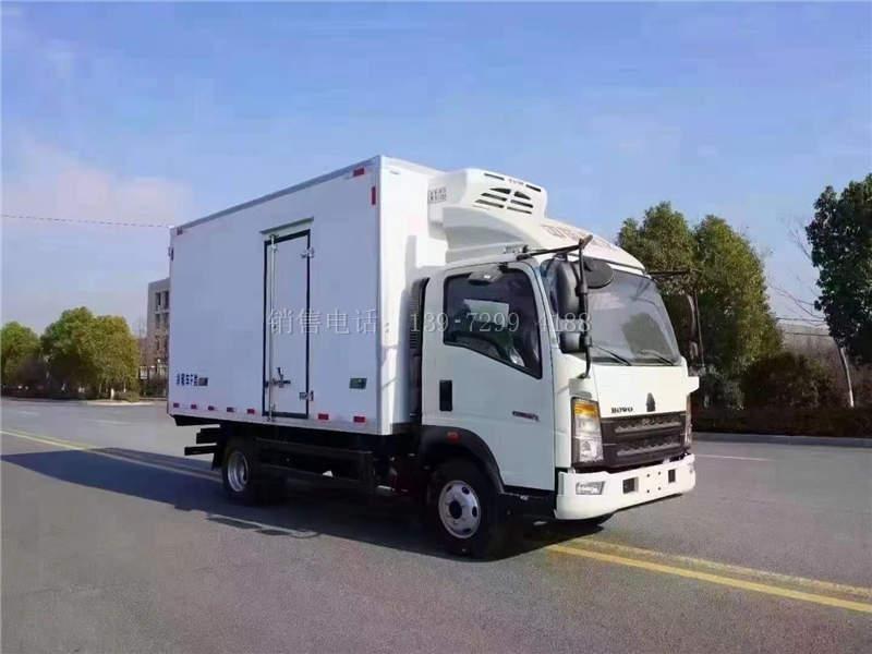 重汽冷藏车4米2价格