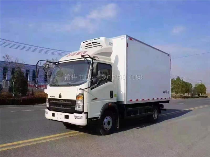 重汽冷藏车4米2配置