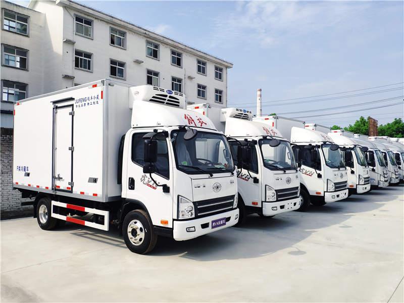 2021年4米2蓝牌轻卡货车冷藏车调整总重,从4.5吨上调至7吨?