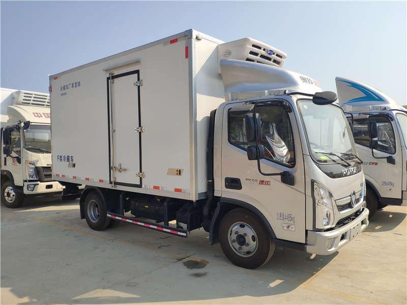 2021年销冠车型国六福田奥铃速运4米2冷藏车