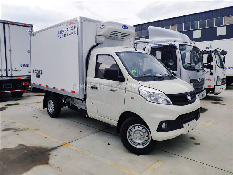 国六福田祥菱V1汽油3米冷藏车价格