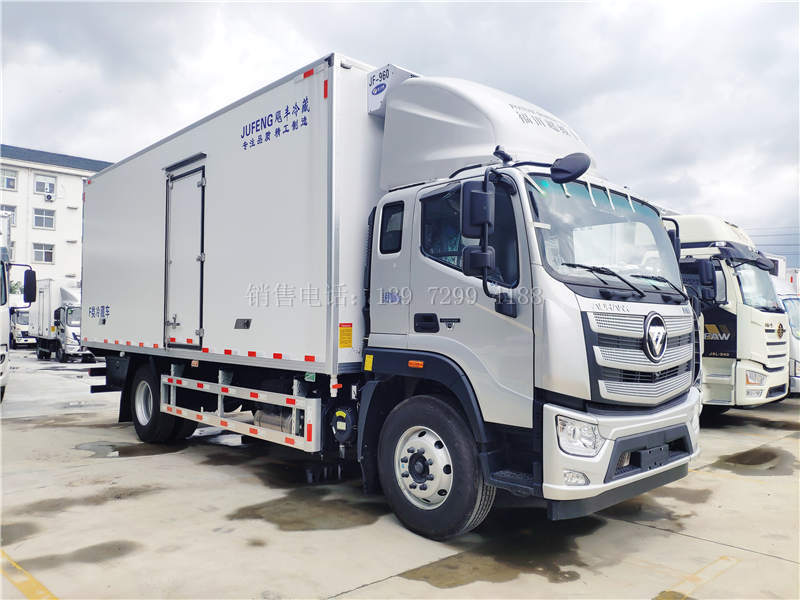 2021最新款国六福田欧航6米8冷藏车上市