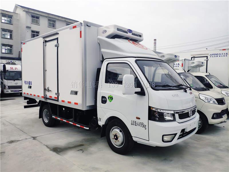 国六柴油东风途逸3米5冷藏车价格图片