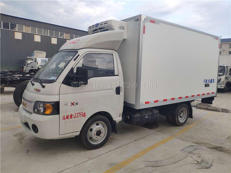 江淮3米5冷藏车货车多少钱?