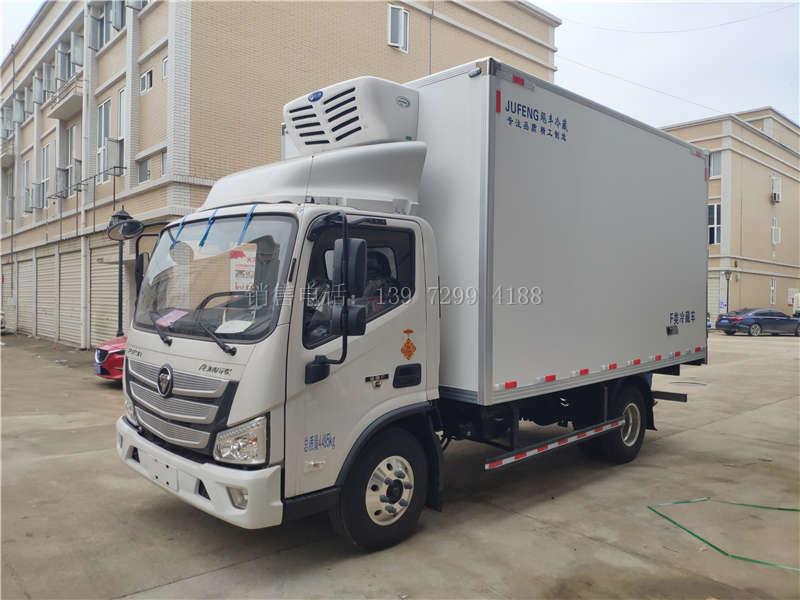 福田4.2米冷藏车3.8排量国六多少钱?