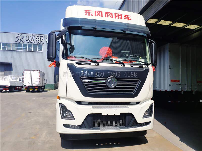 国六东风天龙KL9米6冷藏车详述