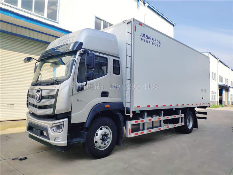 新款国六福田欧航7米6冷藏车详述