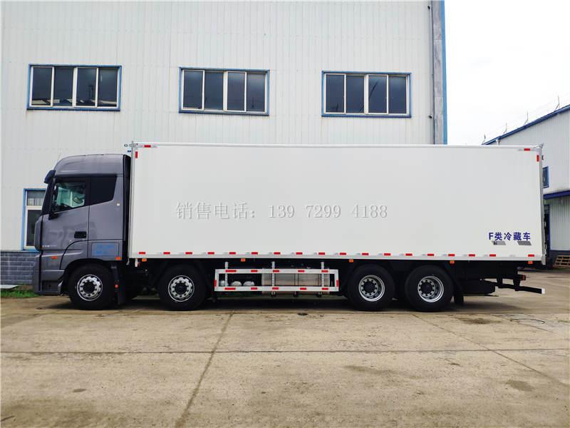 国六福田欧曼EST490马力9米6冷藏车价格配置