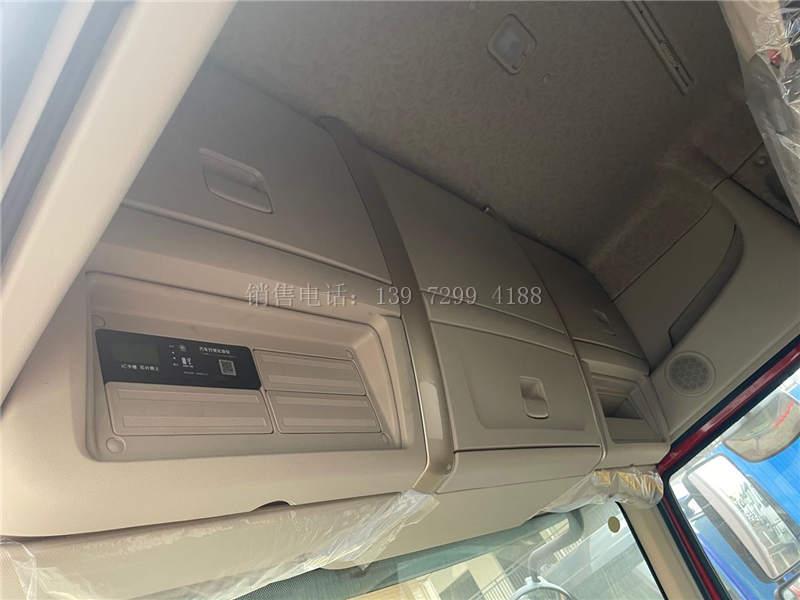 新款东风柳汽乘龙H5高顶双卧7米8保温冷藏车价格图片