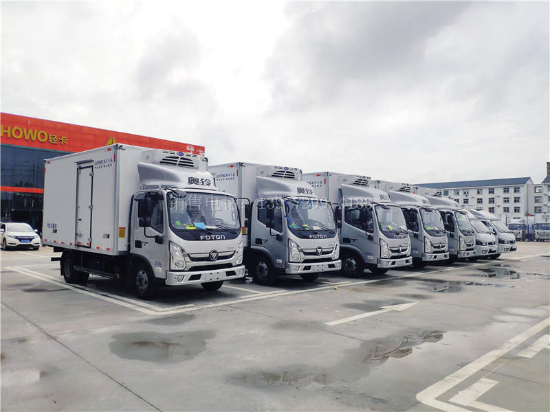 国六4米2冷藏车、6米8冷藏车、9米6冷藏车价格与车型
