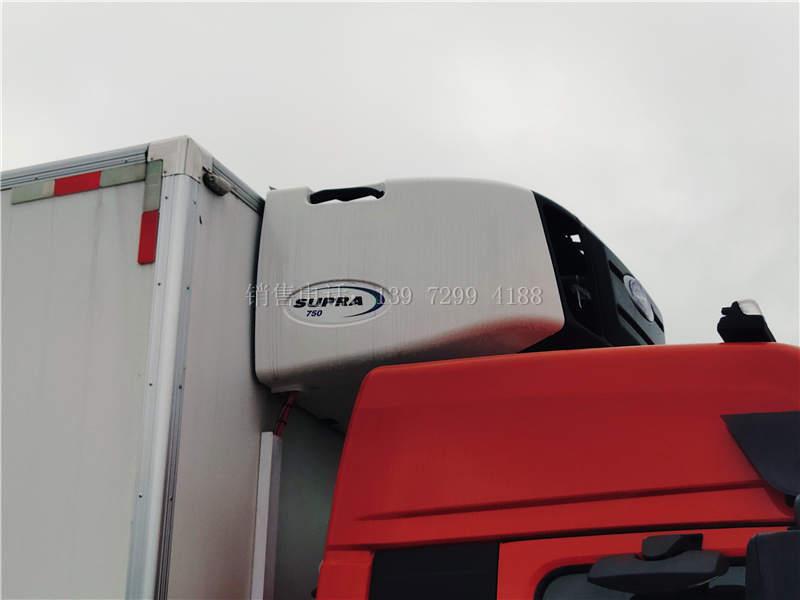 国六东风天锦6米8冷藏车配开利750S独立制冷机组怎么样?整车多少钱?