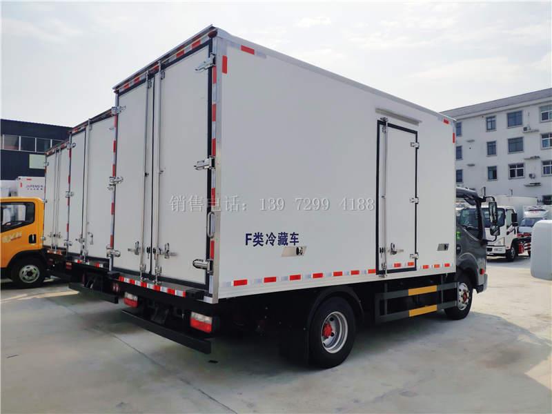 国六东风凯普特K6蓝牌4米2冷藏车报价