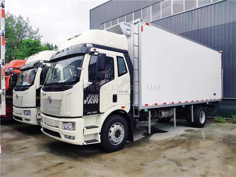 国六解放J6L质惠版6米8冷藏车报价图片