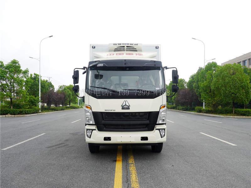 国六重汽豪沃G5X排半5米8保温冷藏车价格图片