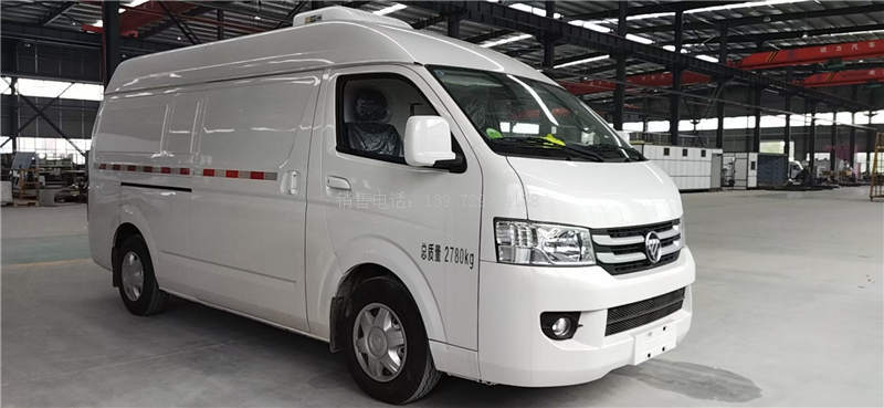 国六福田G7汽油面包冷藏车报价详述