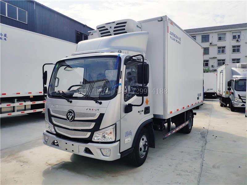 国六福田欧马可4米2药品冷藏车多少钱?
