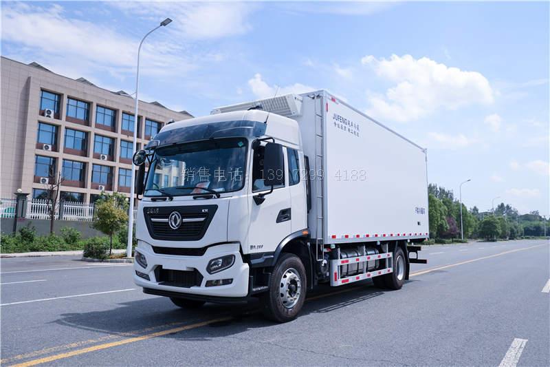 国六东风天锦KR6.8米康明斯260马力冷藏车价格