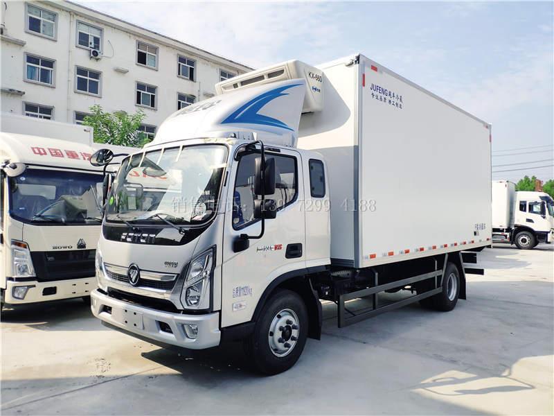 国六福田奥铃CTS排半5米1冷藏车价格
