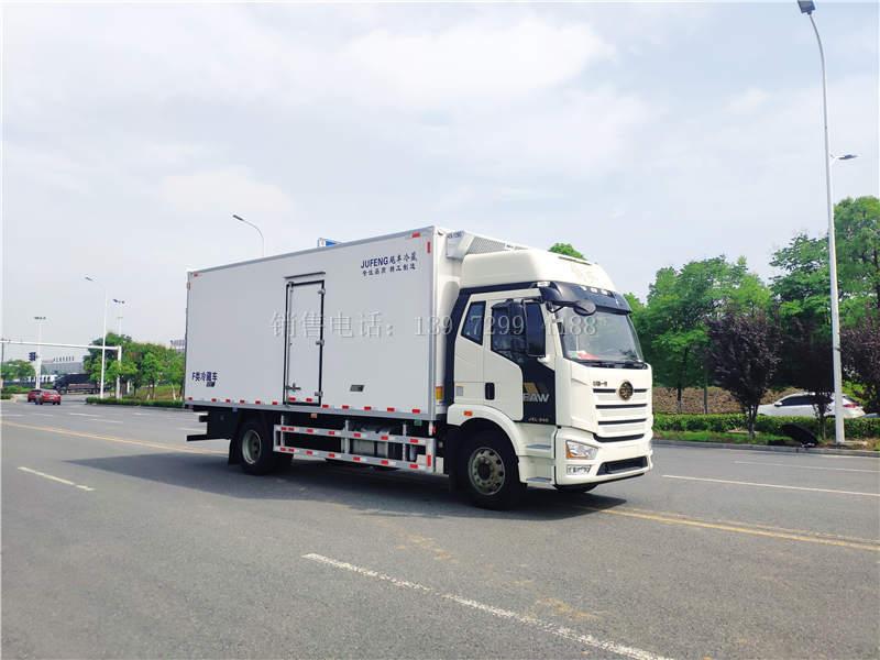 国六解放J6L尊享版6米8冷藏车价格