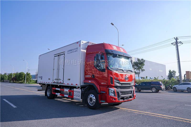 东风柳汽乘龙6.8米新款冷藏车价格