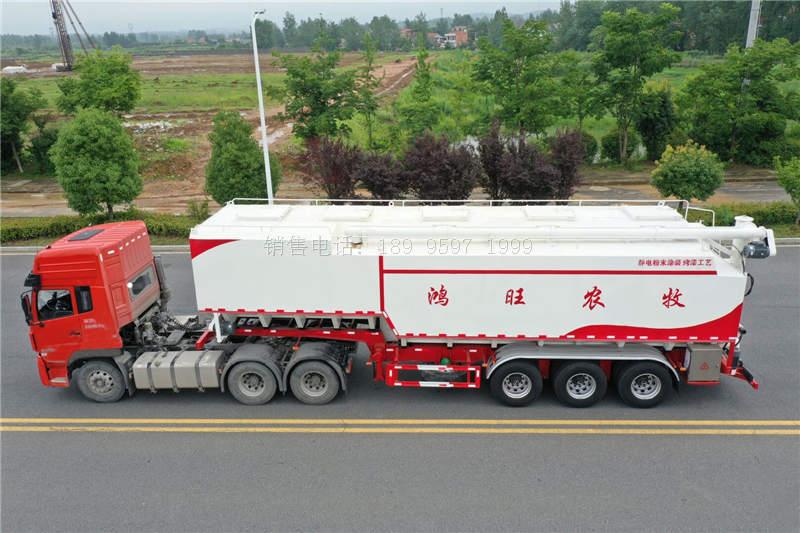 30吨11米半挂散装饲料运输车价格